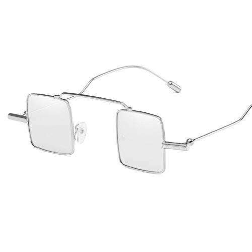 UV400 Couleur Soleil Lunettes Facultative De De Surdimensionné Mode Dames 100 Les Multi silverframesilver pour Pq5zwqnr