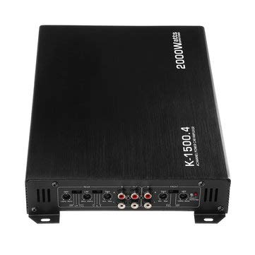 DC 12V Car 4 Channle 2000W Auto Audio Amplifier Power Stereo - Car Audio & Monitor Car Amplifiers]()