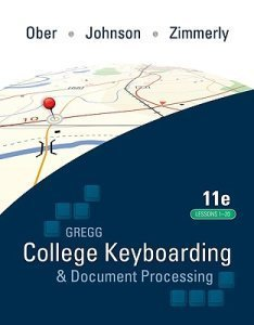 Gregg College Keyboarding and Document Processing (Lessons 1-20) EMPTY BOX