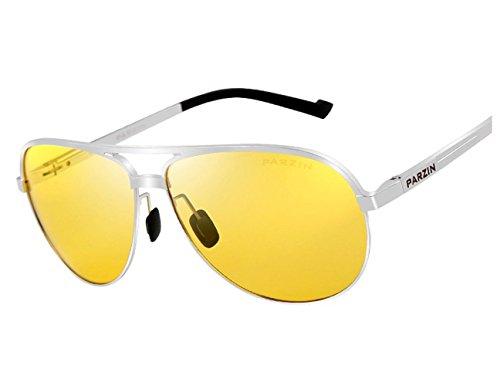 Drivers Polarized Jewelry (TELAM Polarized Night Vision Glasses, Night Vision Glasses Dedicated Car Driver, Hd Anti-glare Night Vision Goggles, Aviation Aluminum Magnesium Materials.)