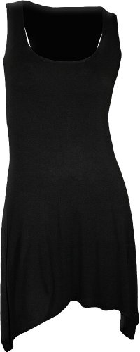 Spiral - Womens - GOTHIC ELEGANCE - Goth Bottom Camisole Dress Black - L