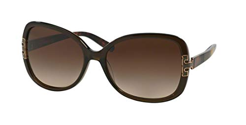 Tory Burch Sunglasses - TY7022 / Frame: Olive Block Lens: Brown Gradient from Tory Burch