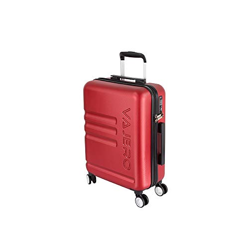 VAJERO   Hard Sided Trolley/Travel/Tourist Cabin Luggage 20 Inch  Cherry red  Trolley Bag
