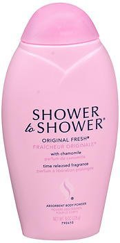 SHOWER TO SHOWER Body Powder Original Fresh 8 oz (Pack of 5) by Shower To Shower