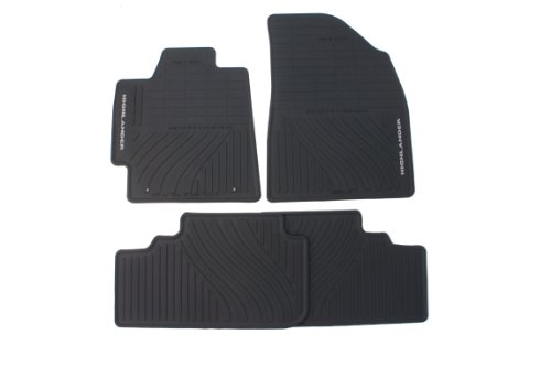 Genuine Toyota Accessories PT908-48G00-02 Front and Rear All-Weather Floor Mat - (Black), Set of 4 (Carpet Toyota Mats)