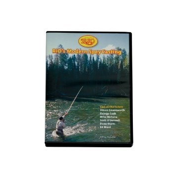 RIO Fly Fishing Modern Spay Casting DVD Fly Tying (Spey Casting Dvd)