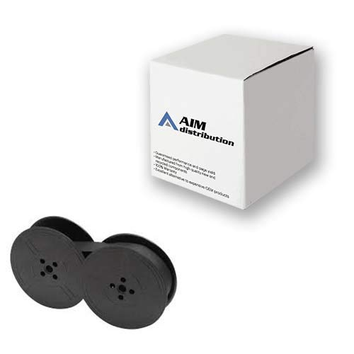 AIM Compatible Replacement for Porelon 11472 Black Typewriter Ribbons (6/PK) - Compatible to Swintec S310 - Generic (Oem S14 Standard)