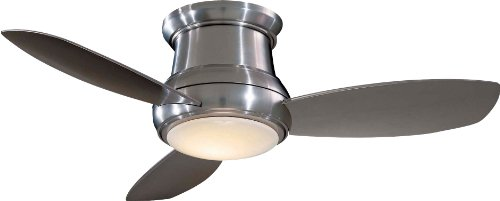 MinkaAire F518LBN Concept II LED Brushed Nickel Flush Mount 44