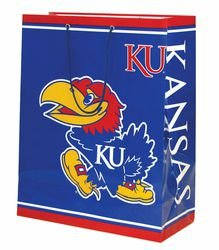 NCAA Kansas Jayhawks Gift Bag, Large