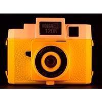 Holga 306120 Holga HOLGAGLO 120N Cameras (Orange Burst)