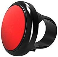 SUNJULY Manopola per Spinner per Volante per Autoveicolo Nero//Rosso//Blu Pomello per Volanti