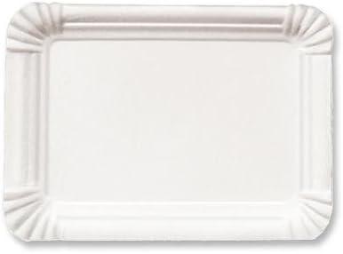 Pappteller weiß 26 cm Dm 5x50 Stk.//Krt.