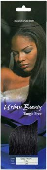 Urban Beauty 100% Human Hair Yaky Wvg 10 Color: 2 by Urban Beauty