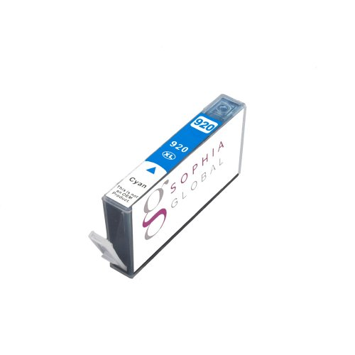 Sophia Global Compatible Ink Cartridge Replacement for HP 920XL (1 Cyan)