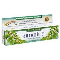 Auromere Ayurvedic Herbal Toothpaste Fresh Mint, 4.16 oz (pack of (Ayurvedic Herbal Toothpaste)