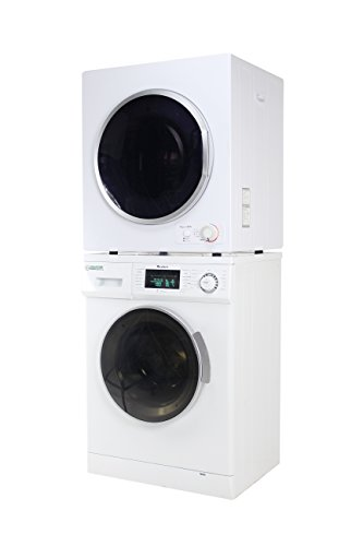 ECOAP EW 820 & ED 850 Stackable Set of Washer and Dryer (Washers Dryer Set)