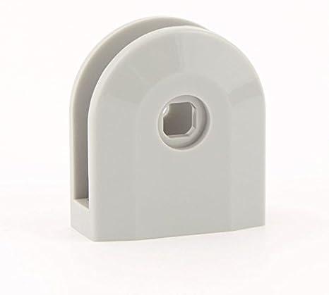 CABSAN Pinza Pared de Nailon 2, Piel sintética para casetas Drenaje 10 mm, Colores Gris RAL 7038: Amazon.es: Hogar