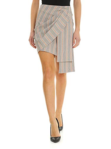 Pinko Donna Beige Gonna Cotone 1b13mr7447ca1 RRTWA6qrnO