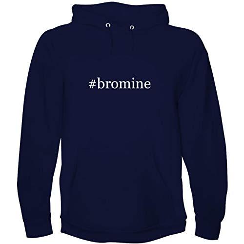 The Town Butler #Bromine - Men's Hoodie Sweatshirt, Navy, Small