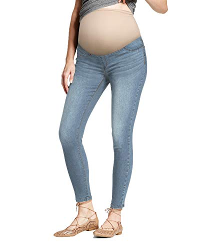 HyBrid & Company Super Comfy Stretch Women's Skinny Maternity Jeans PM5804RSK Light WASH S