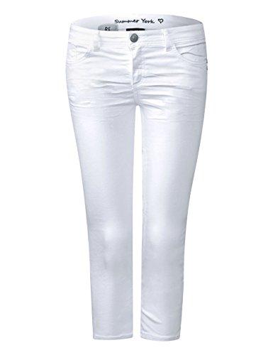 Street One Damen Slim Jeans Weiß (White Colourdenim 11395) PJGptBA