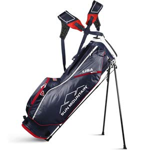 (Sun Mountain 02SM257 NVRD 2019 2.5+ Stand Bag Navy/Red, Navy|Red,)