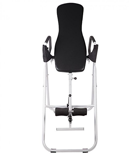 BestMassage Adjustable Folding Inversion Table With Comfort Backrest And Durable Tubular Steel Frame by BestMassage