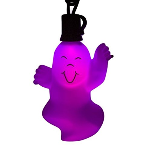LED Color Changing Ghost Electric Lights w/End-to-End Plugs