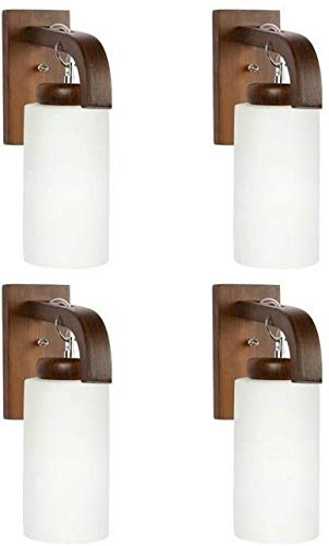 G Gojeeva Pendant Wall Lamp, White  Pack of 4  Wall Lamps   Sconces