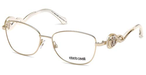 (Roberto Cavalli CALCINAIA RC5027-032 METAL EYEGLASS FRAME GOLD 54MM)