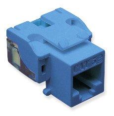 IC107E5CBL - 25PK Cat5 Jack - Blue