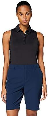Under Armour Zinger Sleeveless Camisa Polo, Mujer, Negro, XS ...