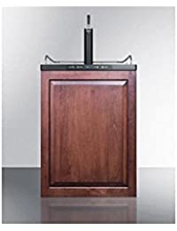 Summit SBC635MBIIF Wine Dispenser, Brown