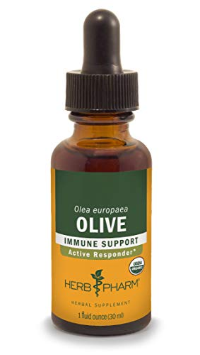 (Herb Pharm Certified Organic Olive Leaf Extract for Immune System Support - 1 Ounce)