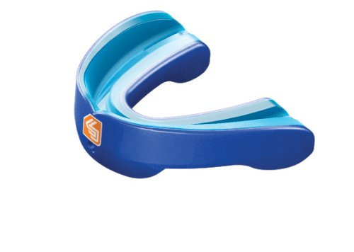 Shock Doctor Gel Nano Convertible Mouthguard (Pearl Royal, Adult)
