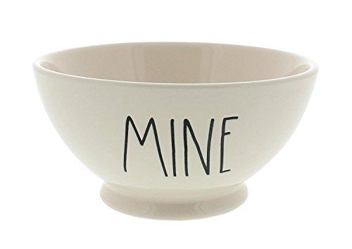Rae Dunn Magenta Artisan Collection Bowl MINE Black -