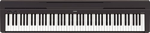 Yamaha P45 88-Key Weighted Action Digital Piano with Sustain Pedal and Power Supply - Weighted Keys Piano