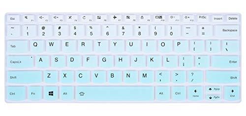 "Keyboard Cover Protective Skin for Lenovo Yoga C930 13.9"", Yoga 920 13.9"", Lenovo Yoga 720/730 13.3 inch, Yoga 730 15.6 inch, Yoga 720 12.5 inch Keyboard Protector, Gradual Mint Green"