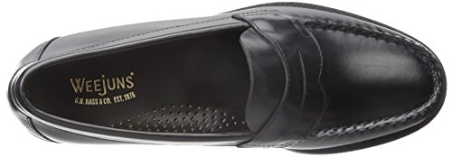 amp; Bass Penny j7kbqMojzx H G Men's Loafer Logan Black EHZqz