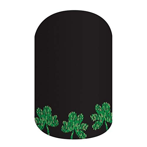 (Jamberry by M. Network ~ St. Patricks Day ~ Wish Me Luck ~ Half)
