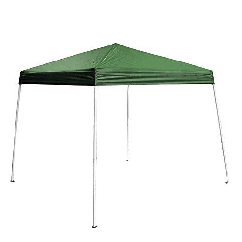 ALEKO GAZ8-10X8-10G Foldable Popup Polyester Gazebo Canopy Patio Coffee Shelter 8 x 8 Feet Green by ALEKO