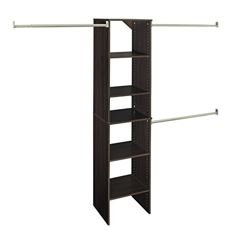 Review ClosetMaid 78881 SuiteSymphony 16-Inch Starter Tower Kit, Espresso By ClosetMaid by ClosetMaid