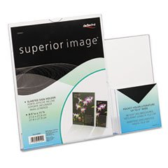 Superior Image Sign Holder With Pocket, 8-1/2w X 11h, Clear By: deflect-o