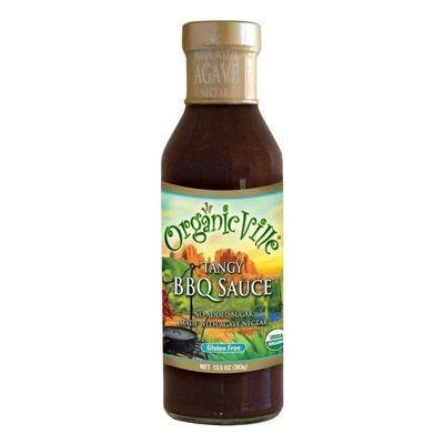 Organicville Sauce Barbeque Tangy, 13.5 oz