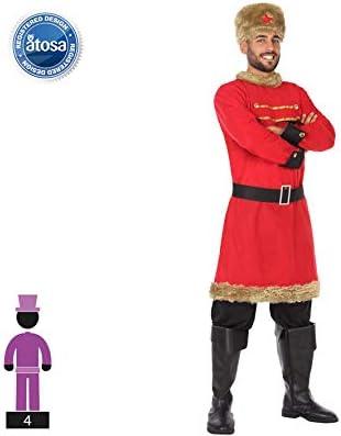 Atosa-54350 Disfraz Ruso, Color Rojo, XL (54350: Amazon.es ...