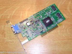 - ATI - 32MB AGP RAGE-128 VIDEO CARD WITH VGA PORT