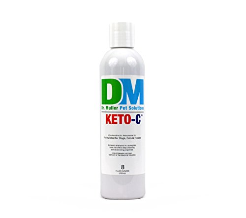 Dr. Muller Keto-C Shampoo for Dogs, Cats, and Horses