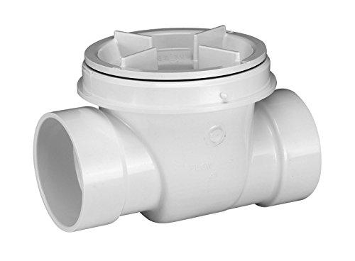 Oatey 43904 PVC Backwater Valve, 4-Inch