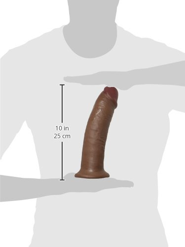 Pipedream King Cock Dildo, Brown, 10 Inch