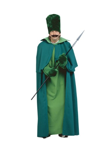 Wizard of Oz - Emerald City Guard Adult Halloween Costume Size 50 X-Large (XL) - Wizard Guard Adult Costumes